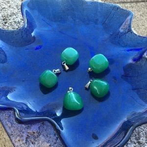Jewelry - Green Jade Pendant Necklace